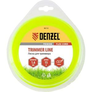 Fir trimmer DENZEL 961107, stea, 1.6 mm x 15 m, Flex Cord