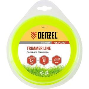 Fir trimmer DENZEL 961127, stea, 2.4 mm x 15 m, Flex Cord