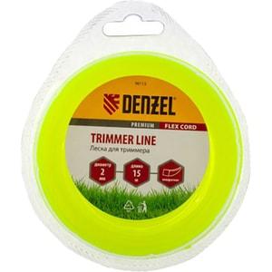 Fir trimmer DENZEL 961157, patrat, 2.0 mm x 15 m, Flex Cord