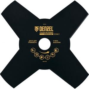 Disc motocoasa DENZEL 96323, 230 x 25.4mm, grosime 1.6mm, 4 lame