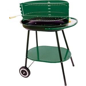 Gratar pe carbuni GRILL CHEF 11321, metal, 55.5 x 38 cm, verde