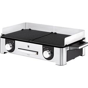 Gratar electric WMF Lono Master Grill 415280011, 2400W, argintiu-negru