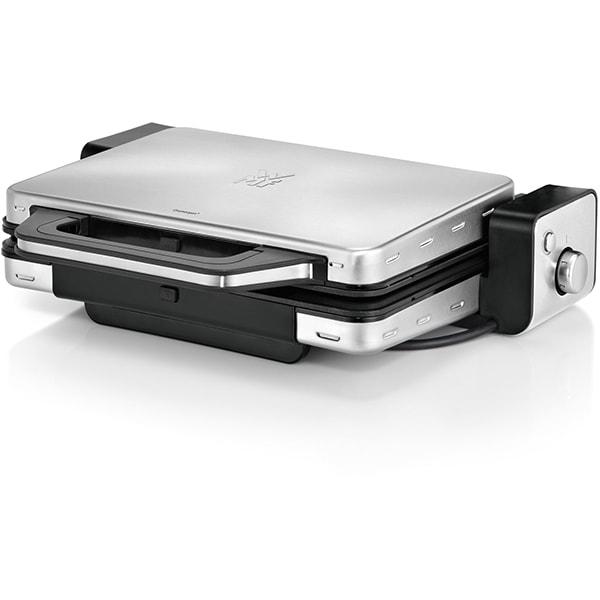 Gratar electric WMF Lono 415110011, 2100W, argintiu-negru