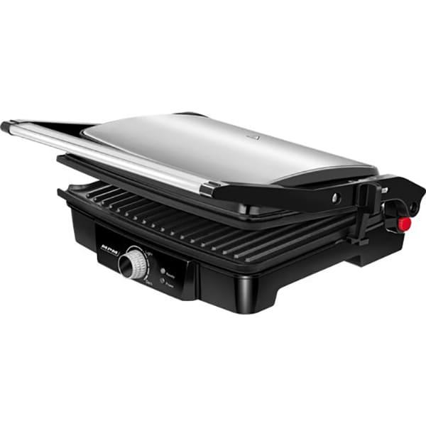 Gratar electric MPM MGR-09M, 2000W, negru-argintiu