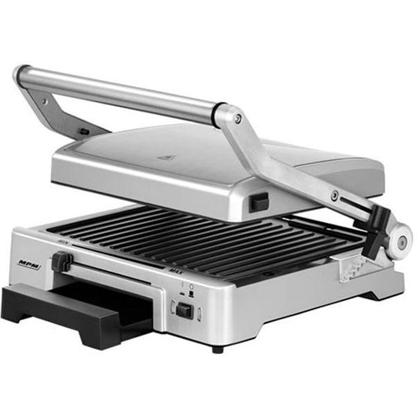 Gratar electric MPM MGR-10M, 2000W, argintiu-negru