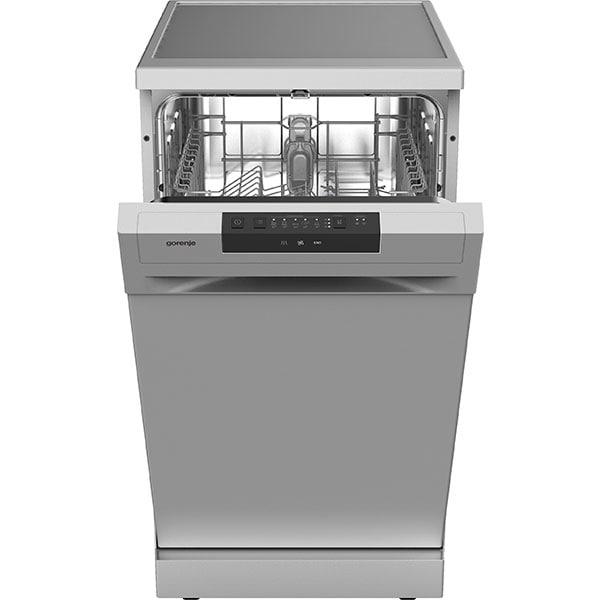 Masina de spalat vase independenta GORENJE GS52040S, 9 seturi, 5 programe, 45 cm, Clasa E, argintiu