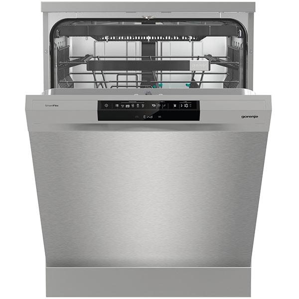 Masina de spalat vase independenta GORENJE GS671C60X, 16 seturi, 5 programe, 60 cm, Clasa C, argintiu