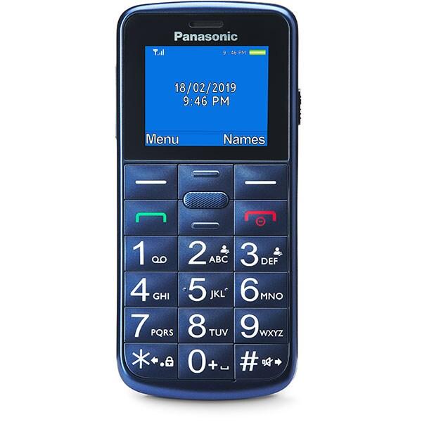 Telefon mobil PANASONIC KX-TU110EXV, 32MB RAM, 2G, Dual SIM, Blue