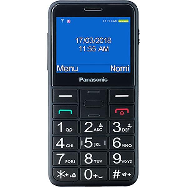 Telefon mobil PANASONIC KX-TU150EXR, buton SOS, 2G, Single SIM, Black