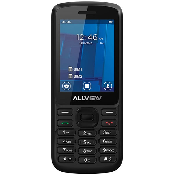 Telefon ALLVIEW M9 Join, 64MB RAM, 3G, Dual SIM, Black