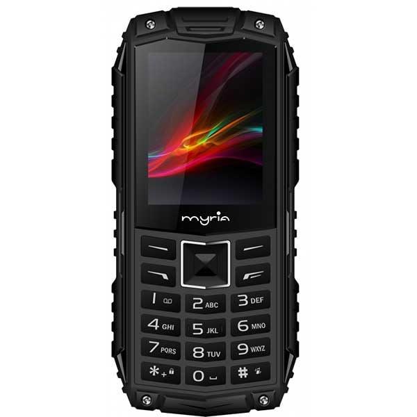 Telefon MYRIA Enduro MY9069BK, 3G, Dual SIM, Black