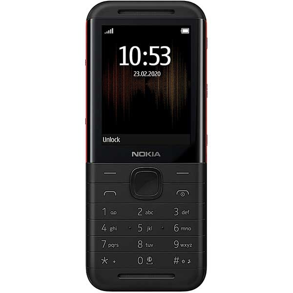 Telefon mobil NOKIA 5310 16MB, 2G, Dual SIM, Black Red