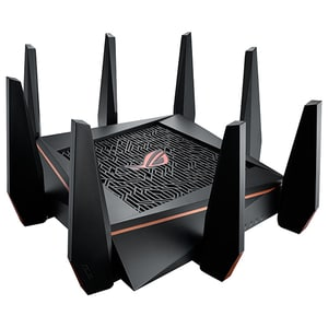 Router Wireless Gigabit ASUS ROG Rapture GT-AC5300, Tri-Band 1000 + 2167 + 2167 Mbps, USB 3.0, negru