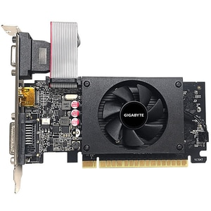 Placa video GIGABYTE GeForce GT 710, 2GB GDDR5, 64bit, GV-N710D5-2GIL