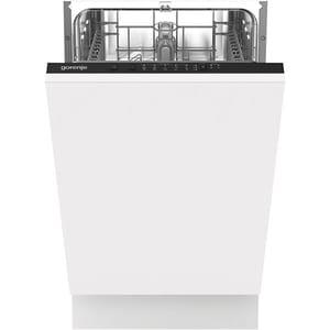 Masina de spalat vase incorporabila GORENJE GV52040, 9 seturi, 5 programe, 45 cm, Clasa E, alb