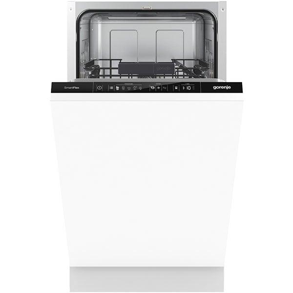 Masina de spalat vase incorporabila GORENJE GV541D10, 9 seturi, 5 programe, 45 cm, Clasa D, alb