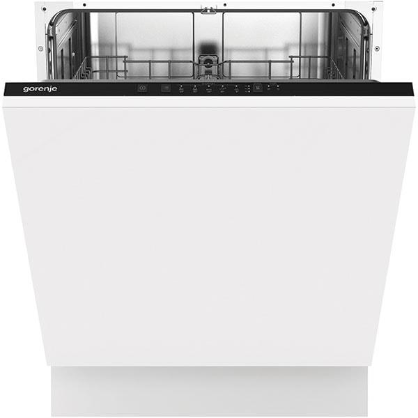Masina de spalat vase incorporabila GORENJE GV62040, 12 seturi, 5 programe, 60 cm, Clasa E, alb