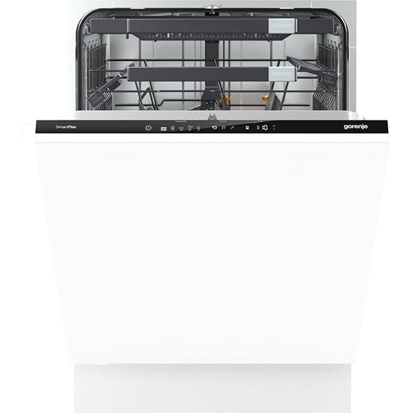 Masina de spalat vase incorporabila GORENJE GV67260, 16 seturi, 5 programe, 60 cm, clasa A+++, alb