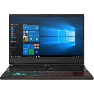 "Laptop Gaming ASUS ROG Zephyrus S GX531GWR-ES008T, Intel Core i7-9750H pana la 4.5GHz, 15.6"" Full HD, 16GB, SSD 512GB, NVIDIA GeForce RTX 2070 8GB, Windows 10 Home, negru"