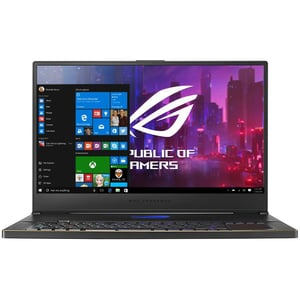 "Laptop Gaming ASUS ROG Zephyrus S GX701GWR-H6093T, Intel Core i7-9750H pana la 4.5GHz, 17.3"" Full HD, 24GB, SSD 1TB, NVIDIA GeForce RTX 2070 8GB, Windows 10 Home, Negru"