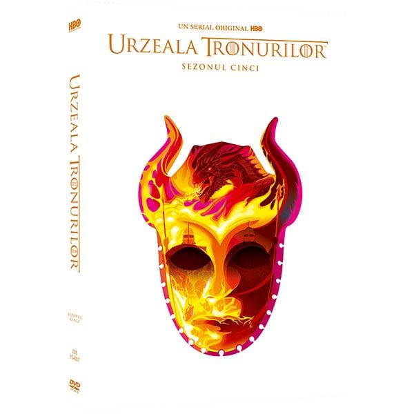 Urzeala Tronurilor - Sezonul 5 DVD Editie Iconica