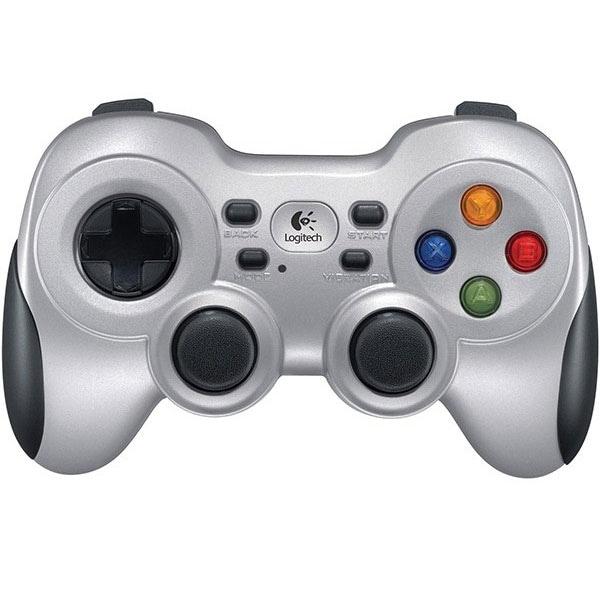 Gamepad Wireless LOGITECH F710 (PC), argintiu