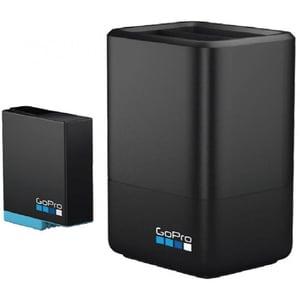 Incarcator dublu + baterie GOPRO AJDBD-001-EU, negru
