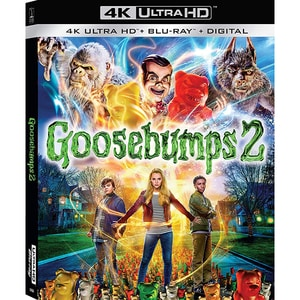 Goosebumps 2: Halloween bantuit 4K UHD+Blu-ray (2 discuri)
