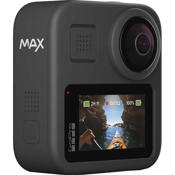 Camera video sport GoPro MAX 360, 5.6K, Wi-FI, GPS, negru