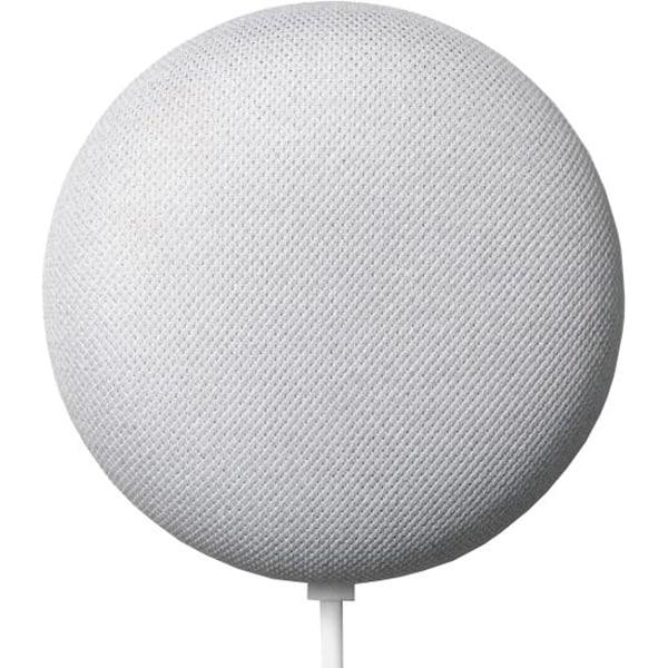 Boxa inteligenta GOOGLE Nest Mini 2nd Gen, Wi-Fi, Bluetooth, Google Assistant, alb