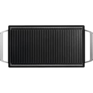 Gratar Plancha ELECTROLUX E9HL33, 51.8x23.8cm, invelis antiaderent, negru