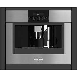 Espressor automat incorporabil GRUNDIG GKI 1221 X, 1.8 l, 1350 w, 15 bar, inox