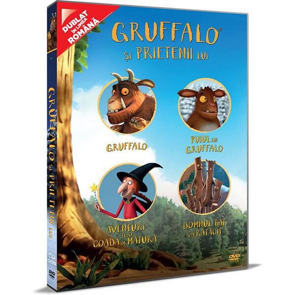 Gruffalo si prietenii lui DVD