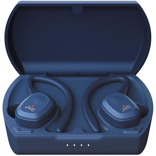 Casti JVC HA-ET45T, True Wireless, Bluetooth, In-Ear, Microfon, albastru