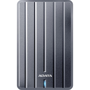 Hard Disk Drive portabil ADATA HC660 Slim, 2TB, USB 3.2 Gen1, titanium
