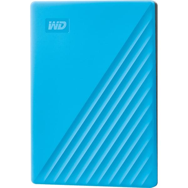 Hard Disk Drive portabil WD My Passport WDBYVG0020BBL-WESN, 2TB, USB 3.2, albastru