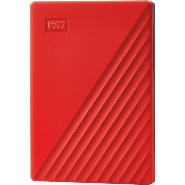 Hard Disk Drive portabil WD My Passport WDBYVG0020BRD-WESN, 2TB, USB 3.2, rosu