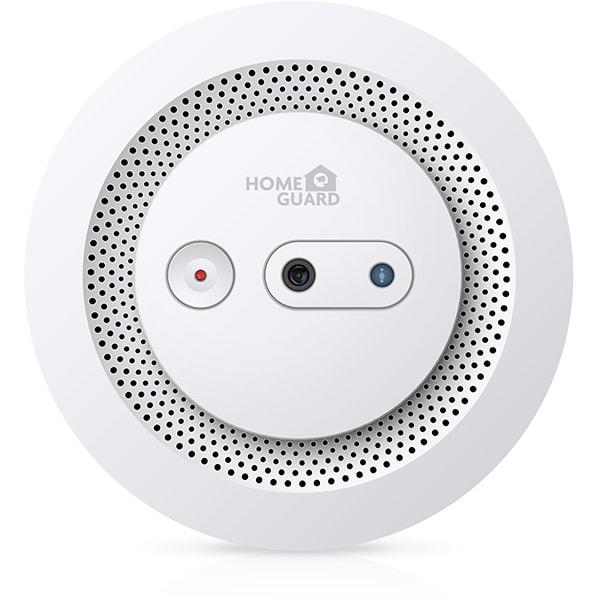 Senzor de fum smart HOMEGUARD HGWSA630, Wi-Fi, notificari foto, alb