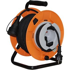 Prelungitor cu tambur HOME HJR 25-3, 1 priza, 22 + 3m, IP44