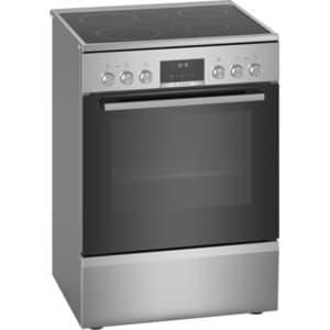 Aragaz BOSCH HKS59D250, 4 arzatoare, electric, L 60 cm, grill, inox