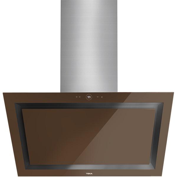 Hota decorativa TEKA DLV 985 LB, 1 motor, 782 m3/h, L 90 cm, london brick brown