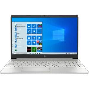 """Laptop HP 15s-fq1051nq, Intel Core i3-1005G1 pana la 3.4GHz, 15.6"""" Full HD, 8GB, SSD 256GB, Intel UHD Graphics, Windows 10 S, argintiu"""