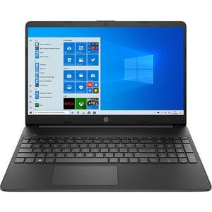 "Laptop HP 15s-fq2000nq, Intel Core i7-1165G7 pana la 4.7GHz, 15.6"" Full HD, 16GB, SSD 512GB, Intel Iris Xe Graphics, Windows 10 Home, negru"