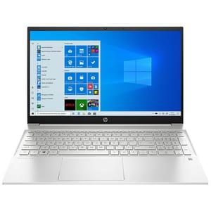 "Laptop HP Pavilion 15-eg0071nq, Intel Core i5-1135G7 pana la 4.2GHz, 15.6"" Full HD, 8GB, SSD 512GB, Intel Iris Xe Graphics, Windows 10 Home, argintiu"