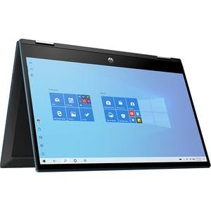 "Laptop 2 in 1 HP Pavilion x360 14-dw1025na, Intel Core i5-1135G7 pana la 4.2Ghz, 14"" Full HD Touch, 16GB, SSD 512GB, Intel Iris Xe, Windows 10 Home, albastru"