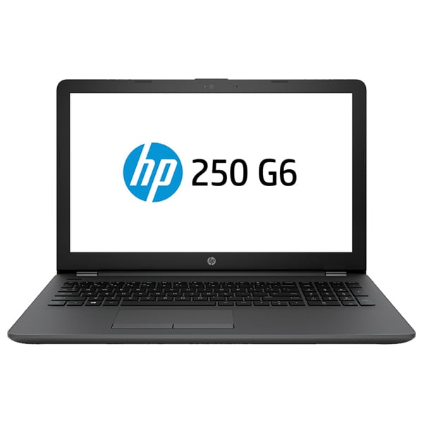 "Laptop HP 250 G6, Intel Core i3-7020U 2.3GHz, 15.6"" Full HD, 8GB, HDD 1TB + SSD 128GB, AMD Radeon 520 2GB, Free Dos, negru"