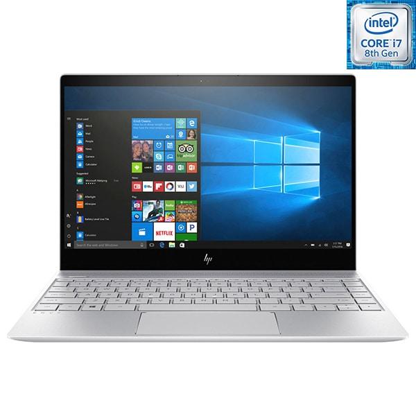"Laptop HP Envy 13-ah0013nn, Intel® Core™ i7-8550U pana la 4GHz, 13.3"" Full HD, 8GB, SSD 256GB, NVIDIA GeForce MX150, Windows 10 Home"
