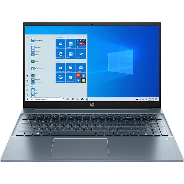"Laptop HP Pavilion 15-eh0031nq, AMD Ryzen 3 4300U pana la 3.7GHz, 15.6"" Full HD, 8GB, SSD 512GB, AMD Radeon Graphics, Windows 10 Home, albastru"