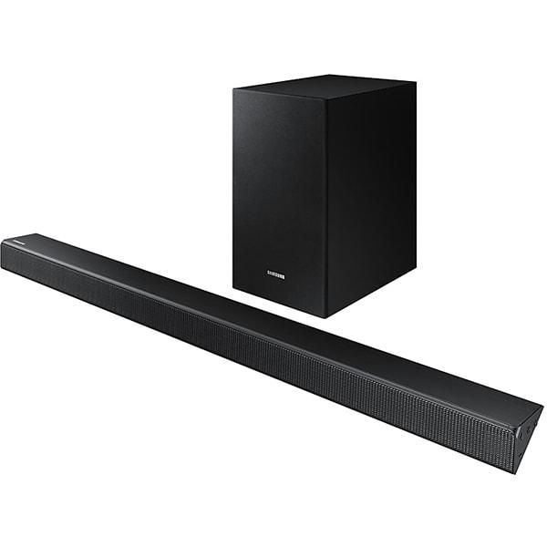 Soundbar SAMSUNG HW-R530, 2.1, 290W, Bluetooth, Subwoofer Wireless, Dolby, DTS, negru