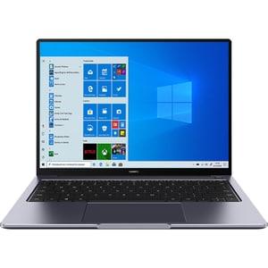 "Laptop HUAWEI MateBook 14, AMD Ryzen 5 4600H pana la 4.0GHz, 14"" QHD, 16GB, SSD 512GB, AMD Radeon Graphics, Windows 10 Home, Space Gray"